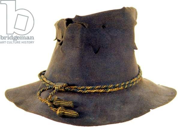 American Civil War, Slouch hat of Colonel  Kellogg