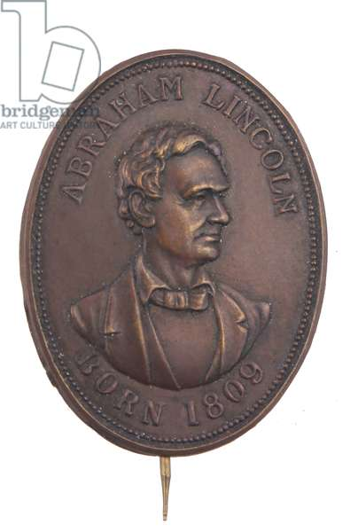 1860 Election Lincoln Campaign Badge