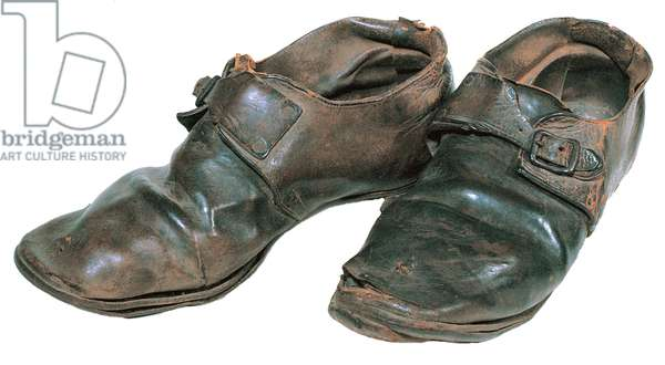 Confederate British imported shoes
