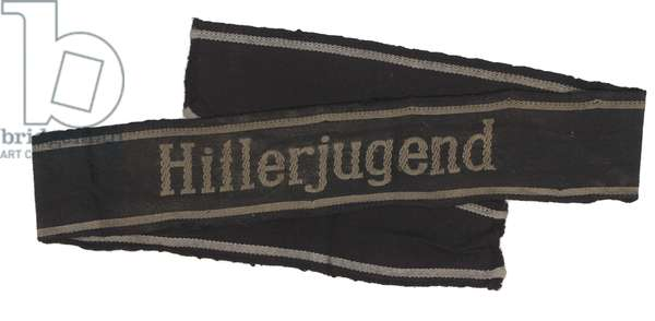 Nazi Germany, Sleeveband from 12th SS Panzer Division Hitlerjugend