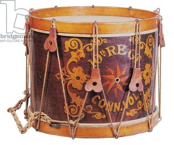 10th Connecticut Civil War Drum