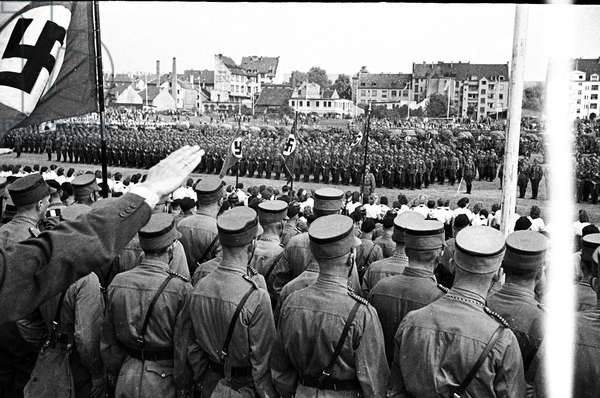 Nazi Party rally in the Saar, circa 1940-41