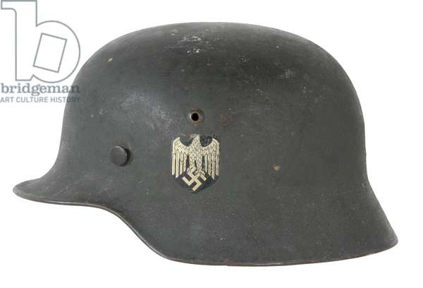Nazi Germany , M35 Army Helmet with Wehrmacht insignia