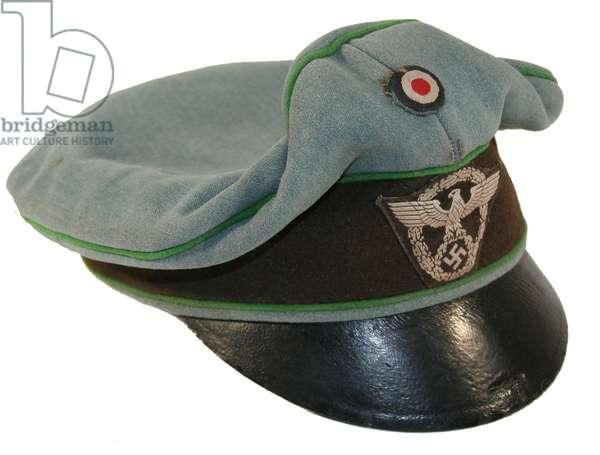Nazi Germany, Police Officer's Field Crusher Cap
