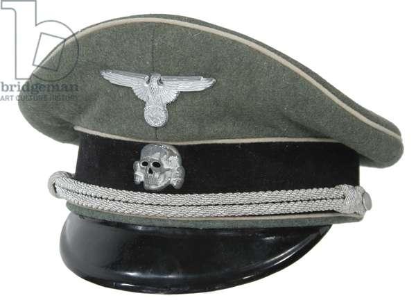 Nazi Germany, Waffen SS officer's visor cap