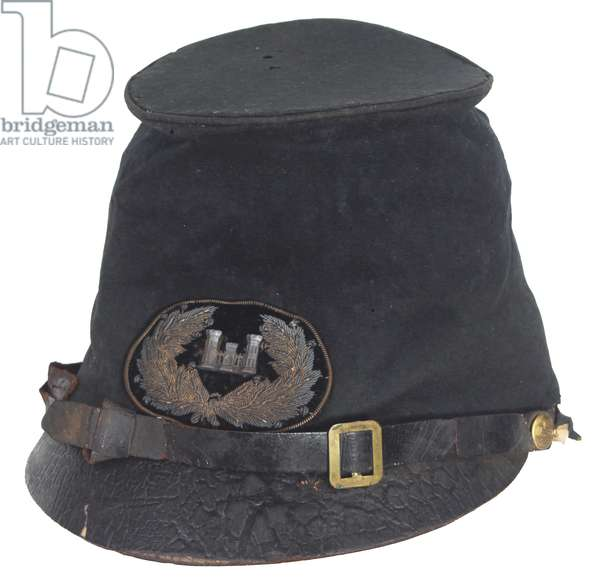 "Civil War Union Army Engineer Officer's ""McDowell"" Style Forage Cap"