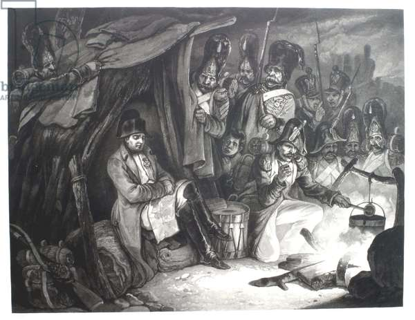 Napoleon found asleep in camp