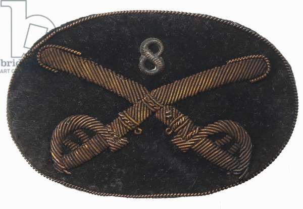 United States Civil War. Union Cavalry Officer's Hat Insignia