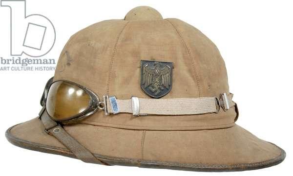 Nazi Germany, Afrika Korps pith Helmet