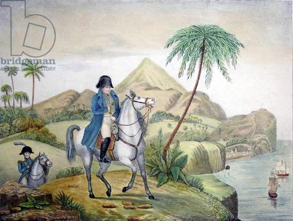 Napoleon in exile on St. Helena
