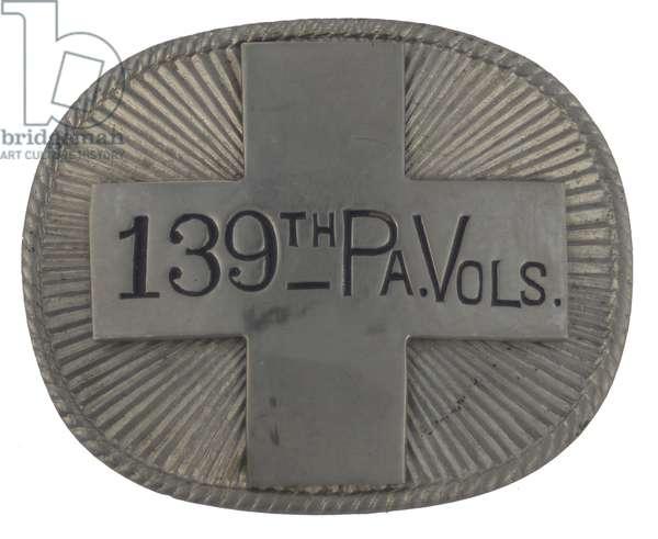 Veterans Badge Of The 139th Pennsylvania Volunteers