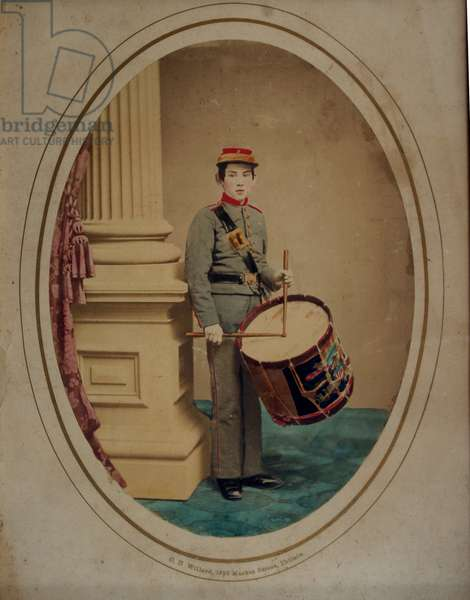 American Civil War. Drummer of the 22nd New York Militia