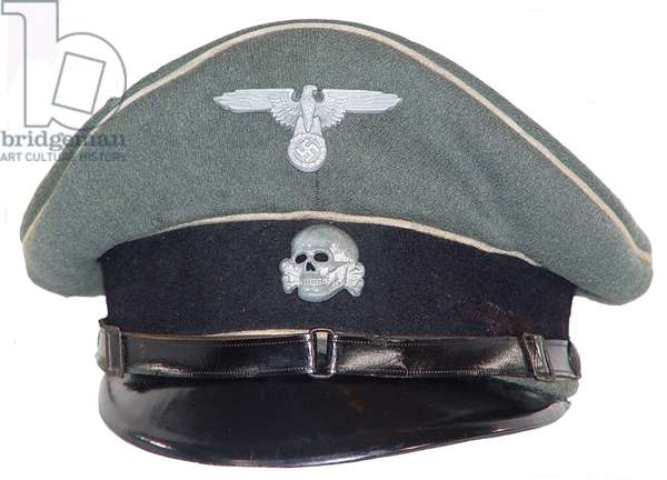 Nazi Germany, Waffen SS other ranks peaked cap