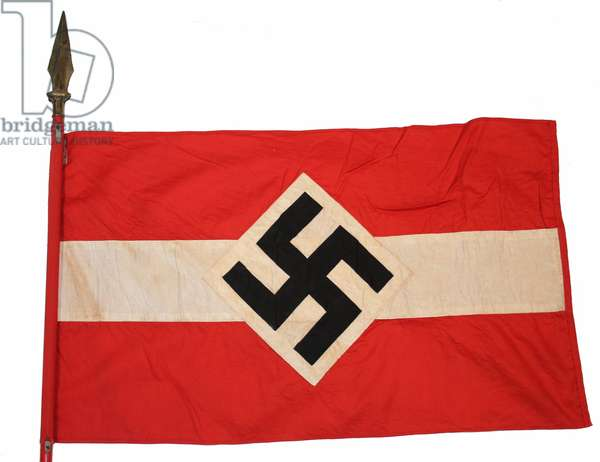Nazi Germany, WWII, Hitler Youth Flag