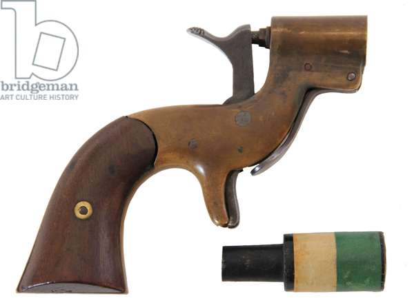 US Army Signal Pistol with Cartridge