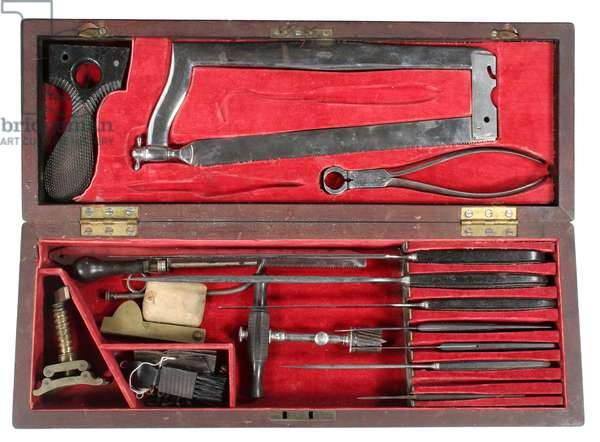 Union Civil War Surgeon's Surgical Amputating Kit