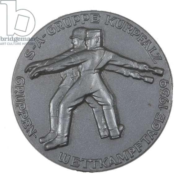 Nazi Germany, Sturmabteilung Kurpfalz Match Day 1939 Badge