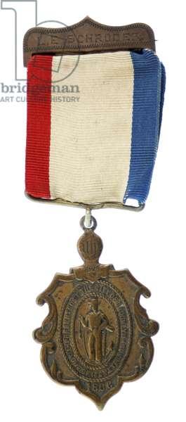 1866 City Of Brooklyn Medal For Navy Veterans