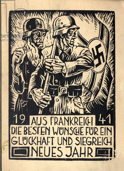 Christmas card from Germany 1941
