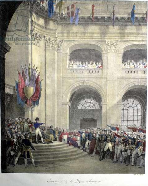Napoleon distributing the Legion of Honor