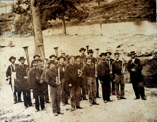 American Civil War-Union Army Band