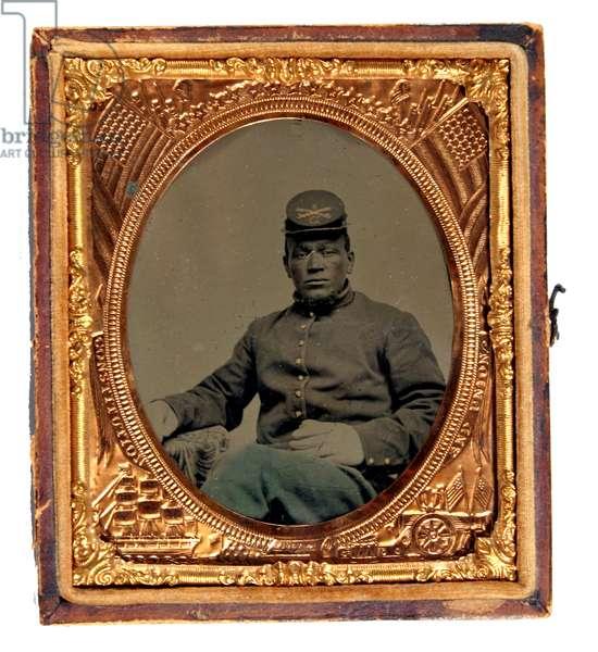 African American Union Cavalryman