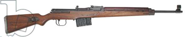Nazi Germany, Gewehr 43 / Karabiner 43,7.92×57mm caliber semi-automatic rifle