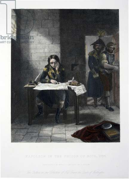 Napoleon in the prison of Nice 1794