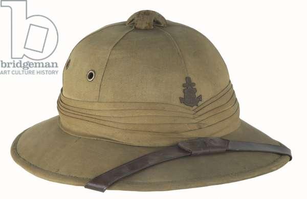 World War II Japan, Special Naval Landing Forces (Marines) Tropical Pith or Sun Helmet