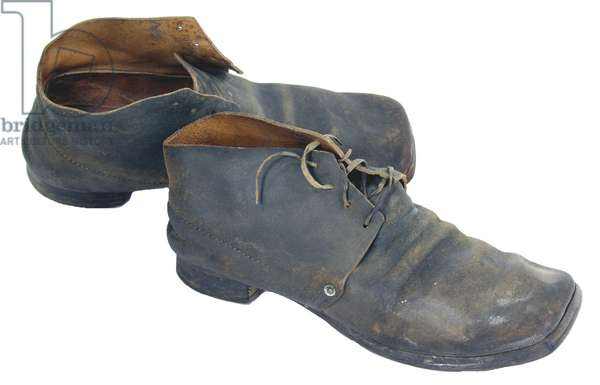 Union Army Contract marked shoes