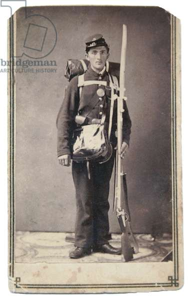 Private Henry A Slack, 169th New York Volunteers