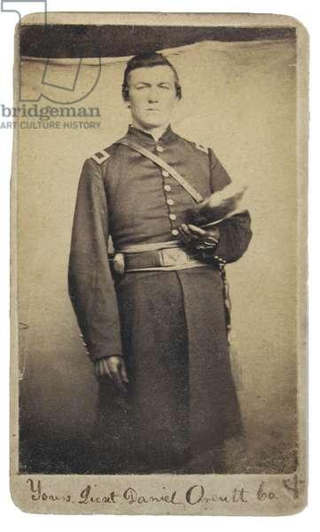 Union Army,Lt Daniel Orcutt, 42nd Pennsylvania Volunteers