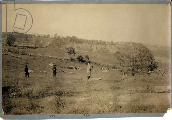 United States Civil War , Steven's Knoll 5th Maine Battery