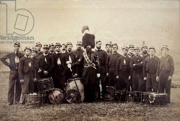 Drum Corps of the 27th Massachusetts Volunteers, November 1864