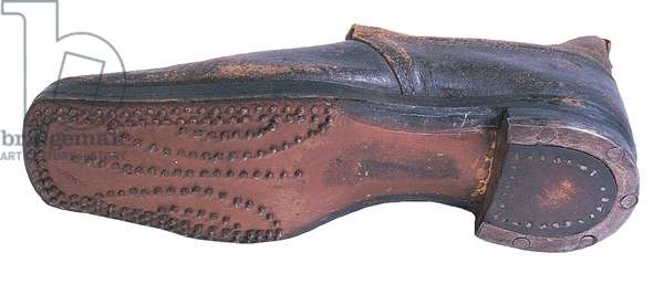 British Army shoe imported for the Confederacy