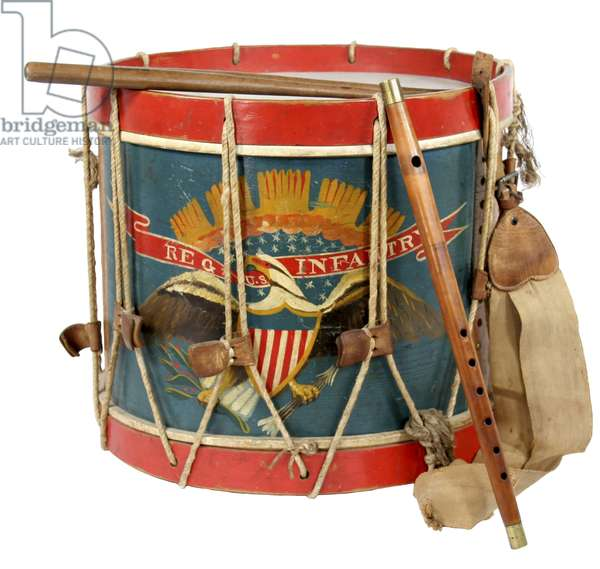 Civil War Union Drum and fife