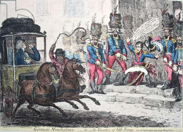 The British vex Napoleon
