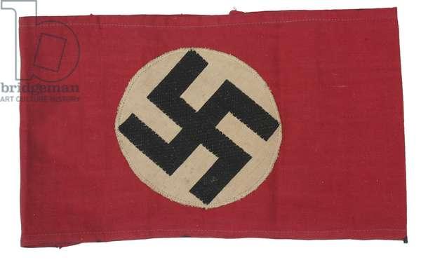 Nazi Party cotton woven armband