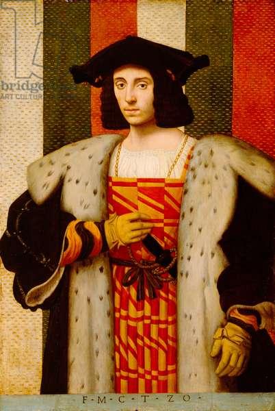 Gentleman of the Trivulzio Family (oil on panel)