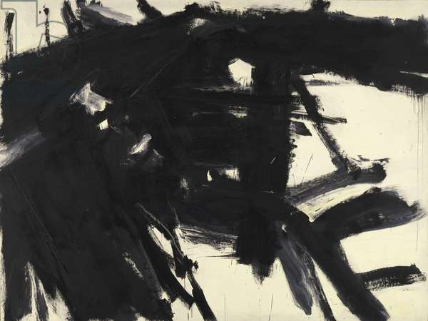 Siskind, 1958 (oil on canvas)