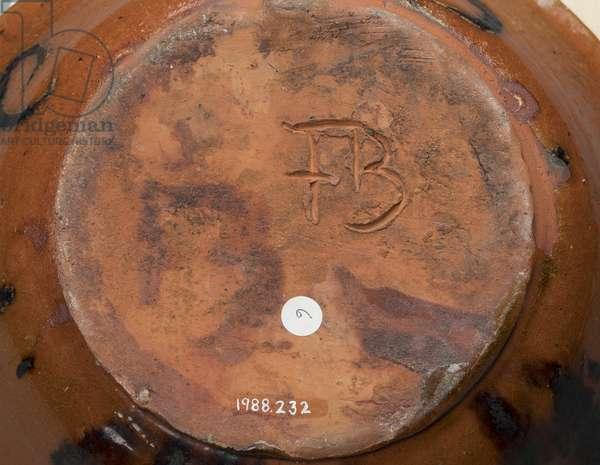 Bowl, c.1924 (earthenware)
