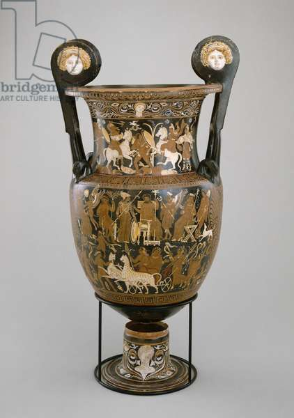 Volute krater, Apulia, 320-310 BC (clay) (see also 321232)