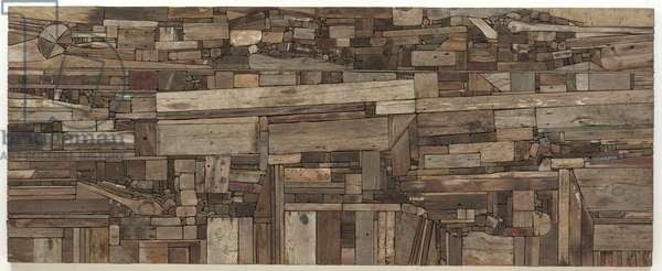 New England Landscape, 1965-67 (wood)