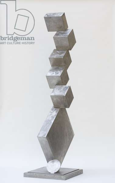 Cubi I, 1963 (stainless steel)