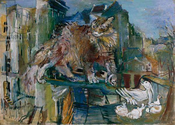 The Cat, 1926 (oil on canvas)