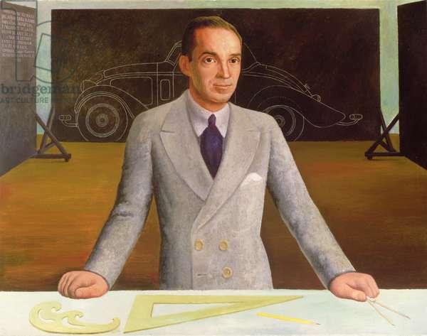 Edsel B. Ford (1893-1943) 1932 (oil on canvas)