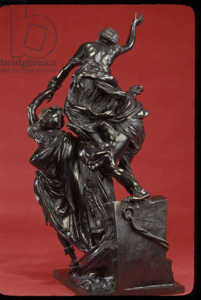The Abduction of Helen, 1683-86 (bronze)