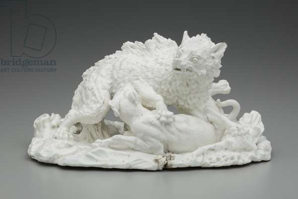 The Wolf Hunt, c.1751 (soft-paste porcelain)