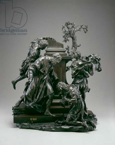 The Return of the Prodigal Son, 1724 (bronze)