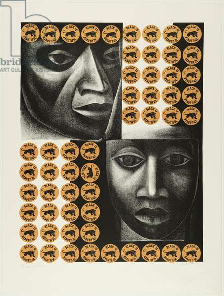 Negro es bello II, 1969, printed 2001 (lithograph)